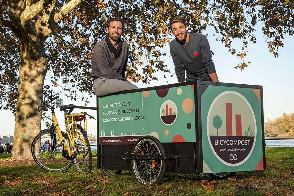 BicyCompost recycle les déchets alimentaires